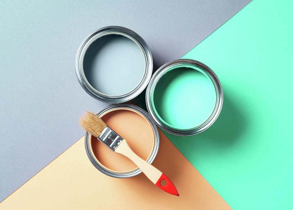 راهنمای رنگآمیزی دیوار با قلم مو