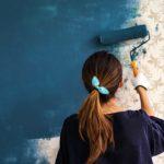 راهنمای رنگ آمیزی به روی کاغذ دیواری