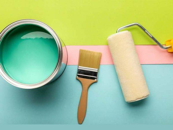 قلم مو یا غلطک رنگ؟ کدام ابزار رنگ مناسب کار شماست؟