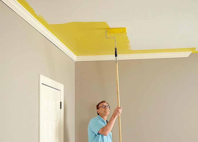 راهنمای رنگ آمیزی سقف : 5 نکته که باید رعایت کنید