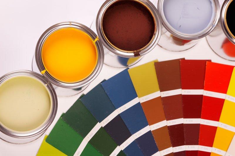 پالت رنگ نمای ساختمان